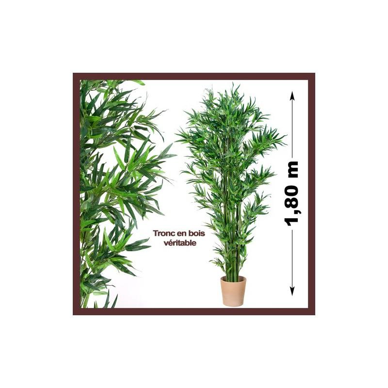 Bambou artificiel pas cher ext rieur ou int rieur 190cm - Bambou artificiel exterieur ...