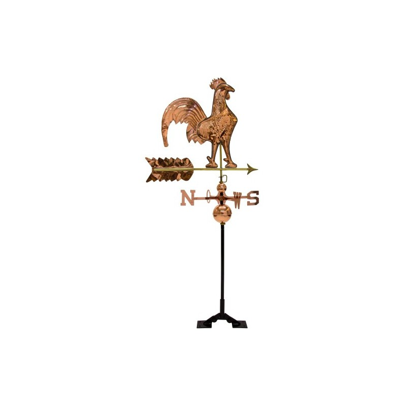 girouette coq en cuivre achat coq girouette de toit pas cher. Black Bedroom Furniture Sets. Home Design Ideas