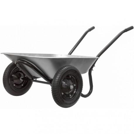 brouette 2 roues galvanis e jardin pas cher. Black Bedroom Furniture Sets. Home Design Ideas