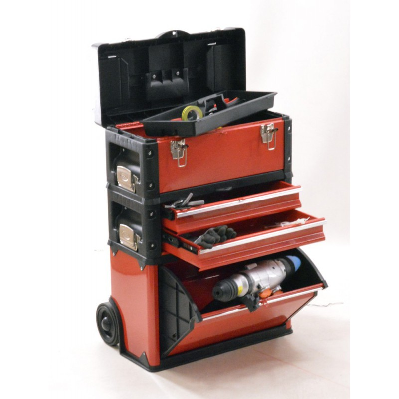 Servante d 39 atelier trolley 3 en 1 brick cotr3in1 b1 for Outillage cuisine