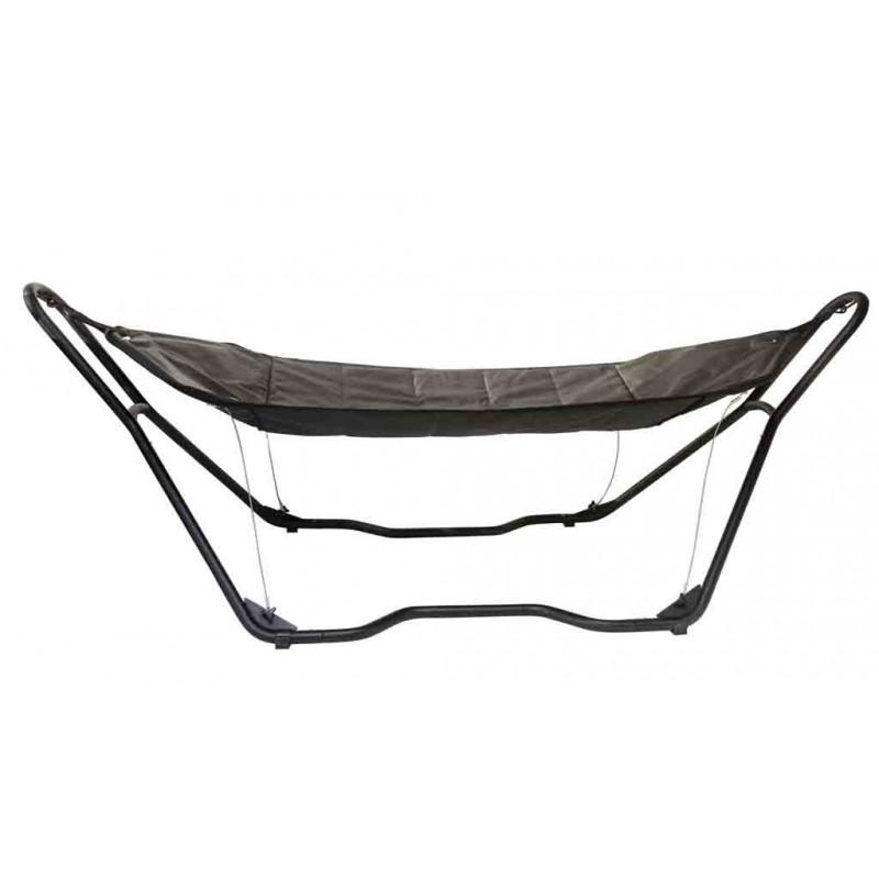 hamac sur pied confortable matelass. Black Bedroom Furniture Sets. Home Design Ideas