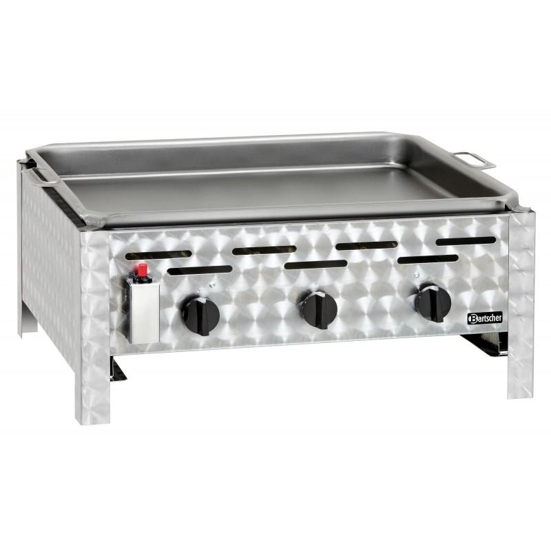 grill combin gaz professionnel 3 br leurs bartscher. Black Bedroom Furniture Sets. Home Design Ideas