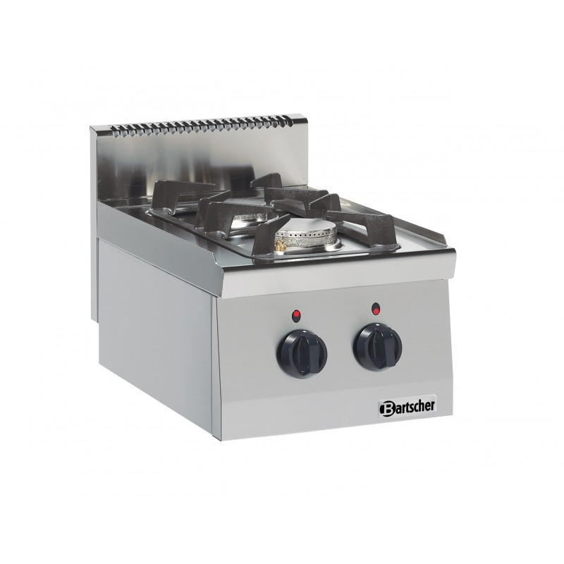 R chaud 2 feux gaz professionnel bartscher for Machine a coudre 974