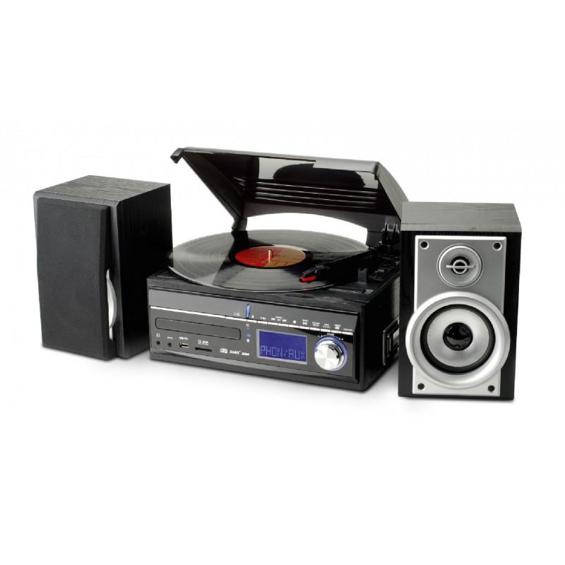 cha ne hifi encodeur usb avec platine vinyle cd radio lecteur cassettes