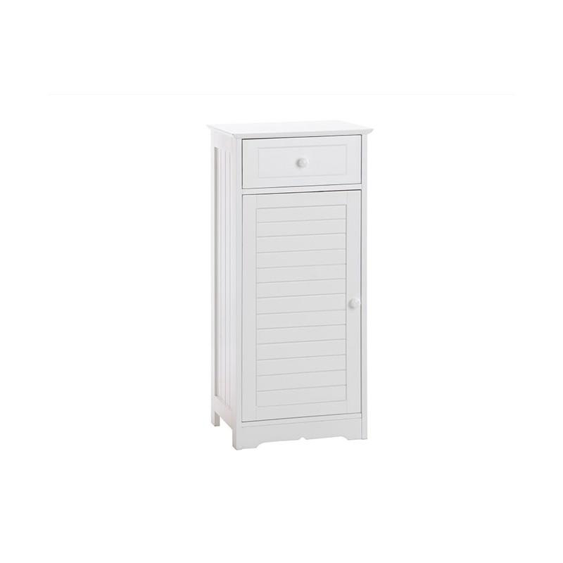 Petit meuble salle de bain blanc for Salle de bain petit prix