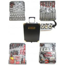 Caisse à outils sur roulettes 186 pièces