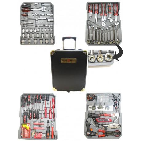 caisse outils sur roulettes 186 pi ces achat caisse outils. Black Bedroom Furniture Sets. Home Design Ideas