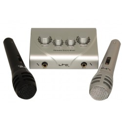 Mixeur karaoké avec 2 micros - LTC KSM10