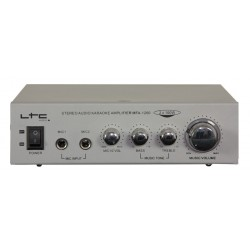 Ampli karaoké 2x50W - LTC MFA1200SI