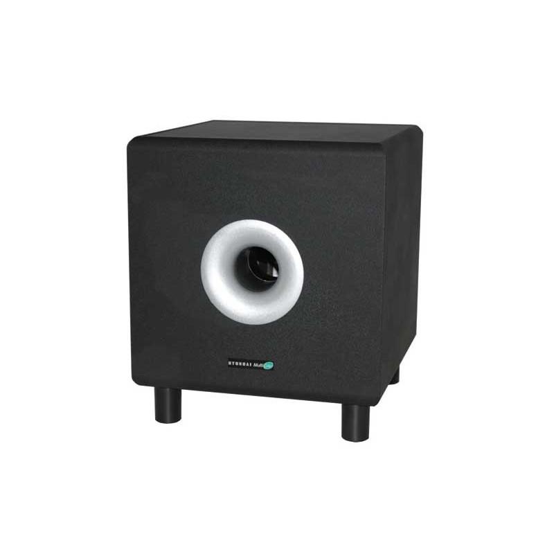 caisson de basse actif amplifi 100w achat subwoofer amplifi. Black Bedroom Furniture Sets. Home Design Ideas