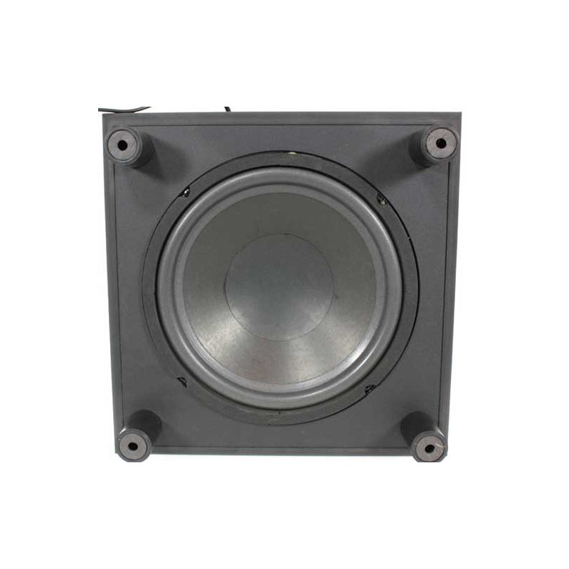 caisson de basse actif amplifi 100w achat subwoofer amplifi. Black Bedroom Furniture Sets. Home Design Ideas