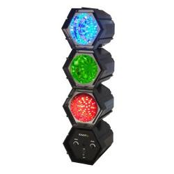 Séquenceur de lumière 3 modules à LED - Ibiza JDL032LED