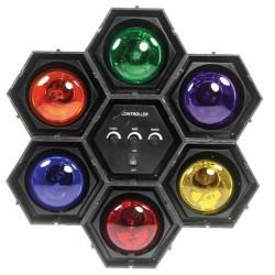 Séquenceur de lumière 6 modules - Ibiza JDL034