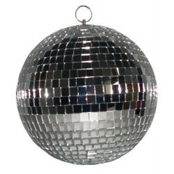 Boule à facette argent 30 cm - Ibiza MB012