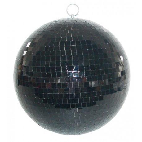 Grande boule à facette noire 50 cm - Ibiza MB020BL