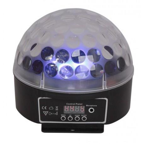 Jeux de lumière DMX à LED RGB ASTRO2 - Ibiza LL091LED