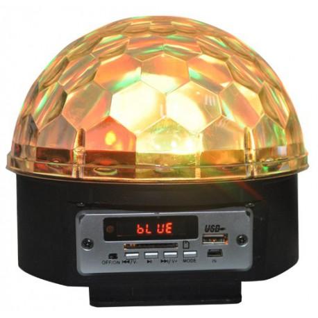 Effet de lumière à LED avec haut-parleurs & SD-USB-Bluetooth RVBBAR ASTRO5