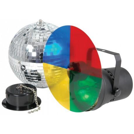 Ensemble disco light 3, lumière disco - Ibiza DISCO3-20