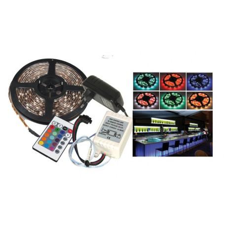 Bandeau ruban lumineux LED multicolore - LTC LLS500RGB-PACK