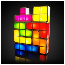 Lampe Tetris Modulable LED