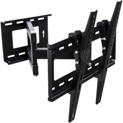 Support mural tv orientable pivotant inclinable lcd led plasma - Support tv mural orientable ...