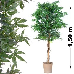 Plant cannabis artificielle, Marijuana artificielle, chanvre artificiel 150cm