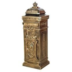 Boite aux lettres pilier colonne en fonte 105cm