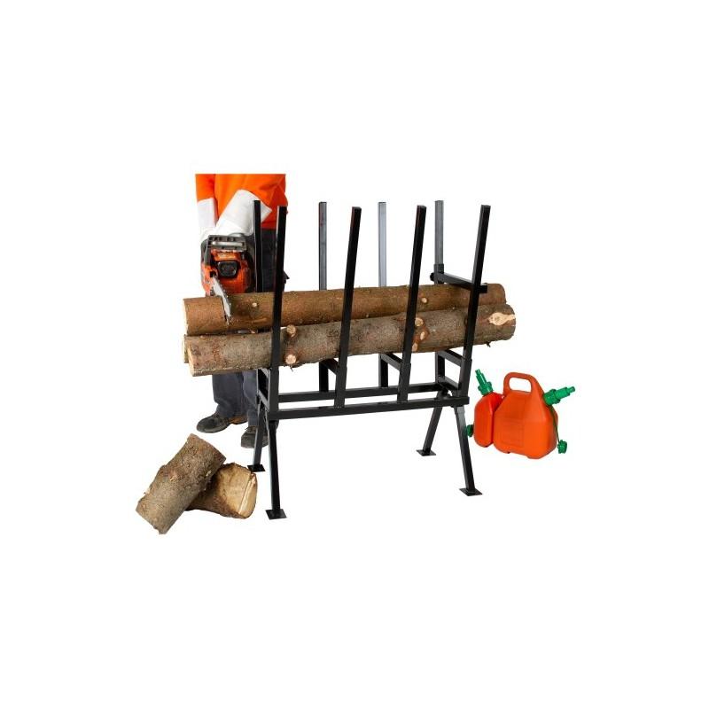 Chevalet de sciage tron onnage chevalet pour couper du bois for Chevalet pour bois de chauffage