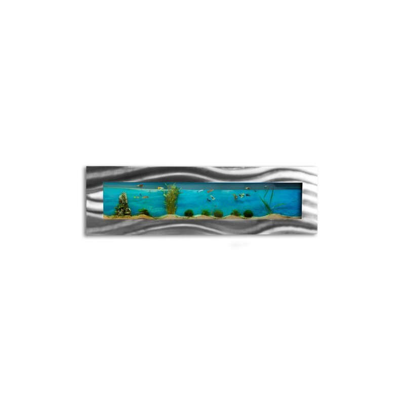 aquarium mural design pas cher 1525x430x110mm
