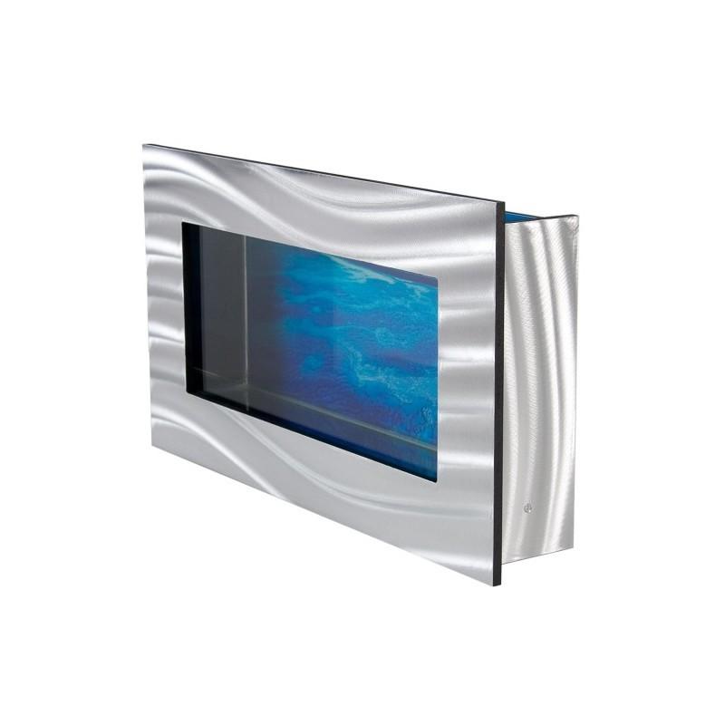 Aquarium mural design pas cher 590x325x110 mm for Poisson aquarium pas cher