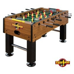 TUNIRO ® Baby-foot Rustic V, Football de Table