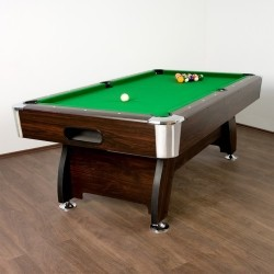 Table de billard Premium Verte, 8 pieds