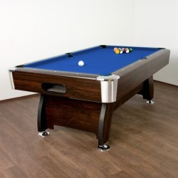 Table de billard Premium Bleue, 8 pieds