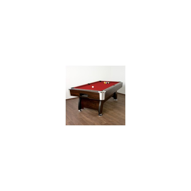 table de billard premium rouge 8 pieds. Black Bedroom Furniture Sets. Home Design Ideas