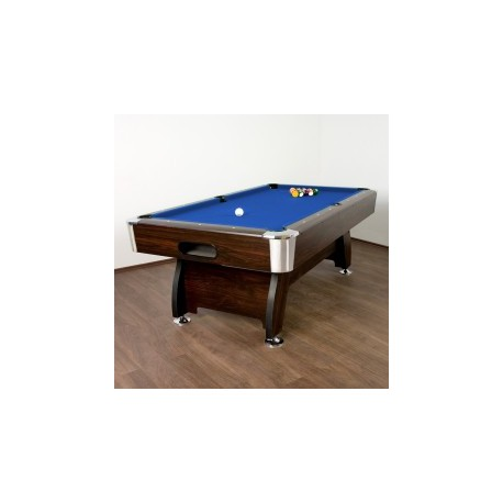Table de Billard Premium Bleue, 7 pieds