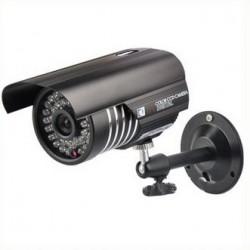 Caméra de surveillance infrarouge extérieur et intérieur couleur 600 TVL 36 LED