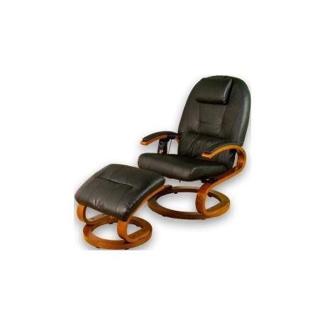 STILISTA® Fauteuil de Massage S-Design Brun/Noir