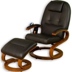 STYLISTA ® Fauteuil de massage noyer / noir