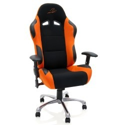 Fauteuil de Bureau Look Racing Orange / Noir