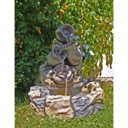 Fontaine de Jardin avec Pots 70 x 83 x 75 cm