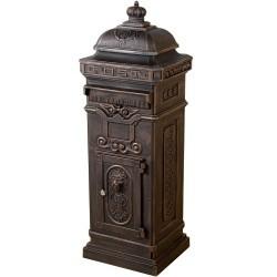 Boîte Aux Lettres sur Pied Bronze