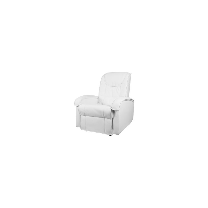 fauteuil de t l vision fauteuil de d tente blanc. Black Bedroom Furniture Sets. Home Design Ideas
