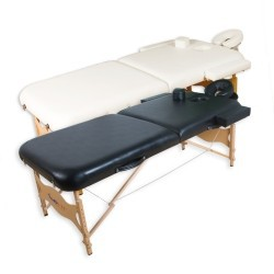 Table de massage MOVIT ® Deluxe, Set Table de massage Noir