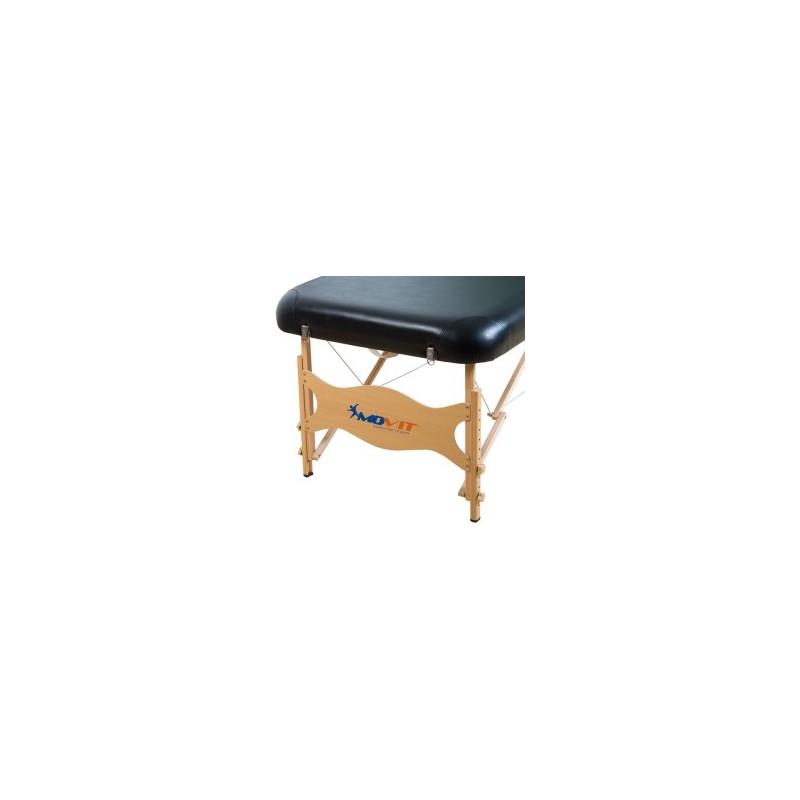 Table de massage movit deluxe set table de massage noire - Prix table de massage ...