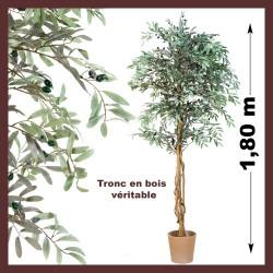 Olivier artificiel, Plante artificielle 180 cm