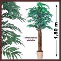 Palmier artificiel d'intérieur areca 180cm