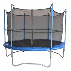 Trampoline 305cm (10'') avec filet de protection