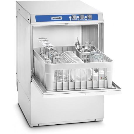 Lave verre professionnel 30 casiers/h avec pompe de vidange intégrée - Casselin CLV35PV