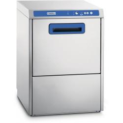 Lave vaisselle professionnel double paroi avec pompe de vidange et adoucisseur intégrés - Casselin CLVADPVAD