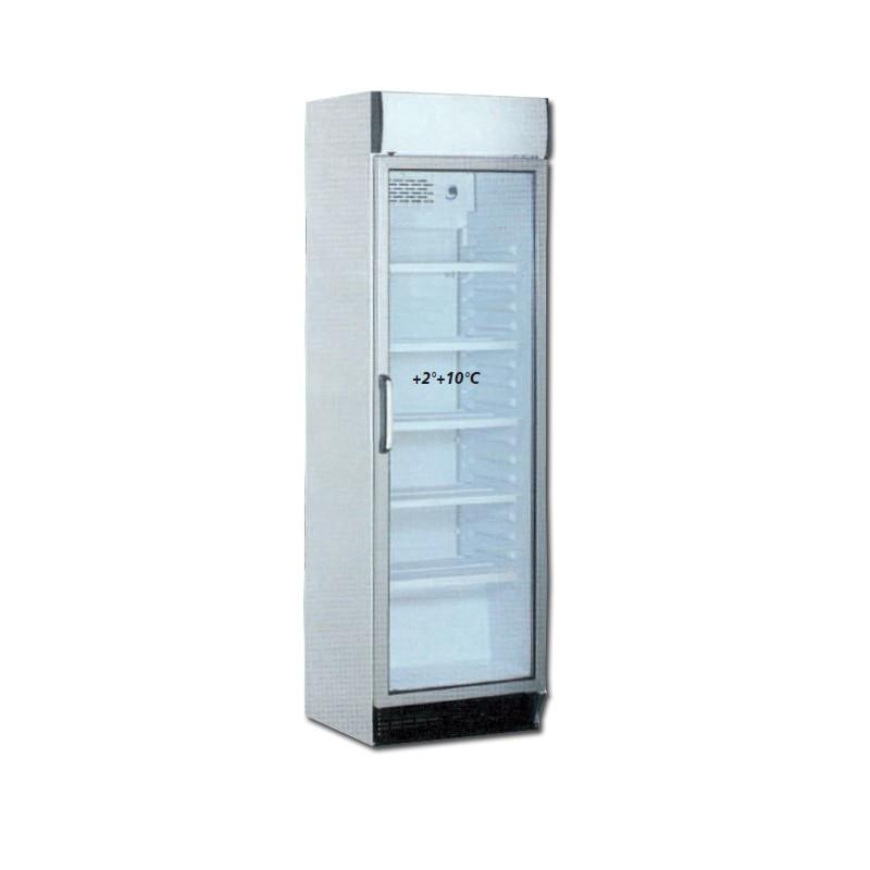 armoire vitr e r frig r e positive 390l 1 porte avec canopy. Black Bedroom Furniture Sets. Home Design Ideas